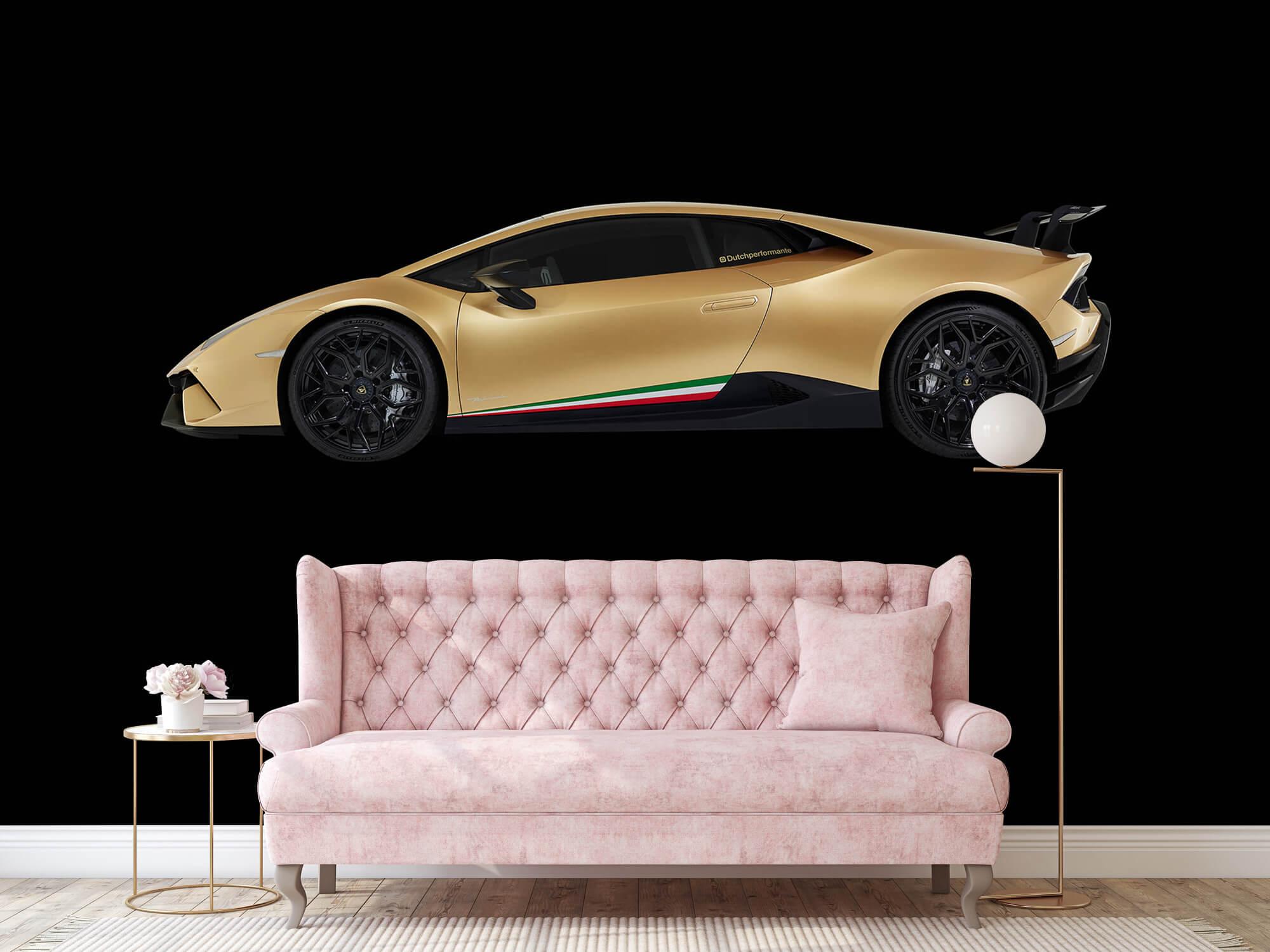 Wallpaper Lamborghini Huracán - Side, black 14