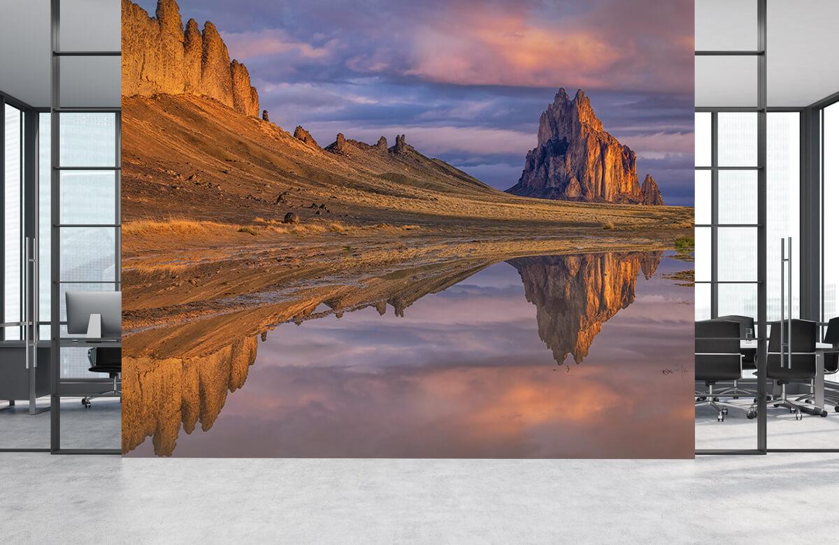 Reflection of Shiprock 2