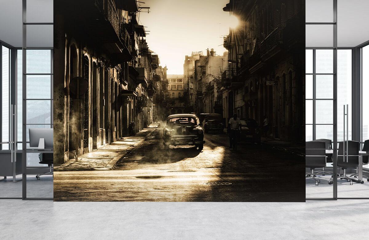 Straat Mystic morning in Havana 2