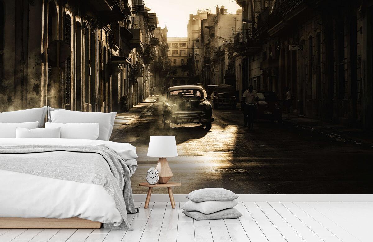 Straat Mystic morning in Havana 5