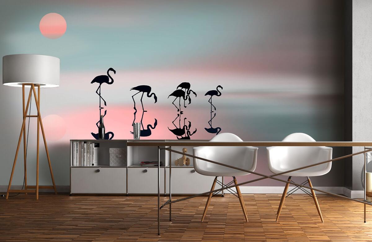 Effecten Family flamingos 3