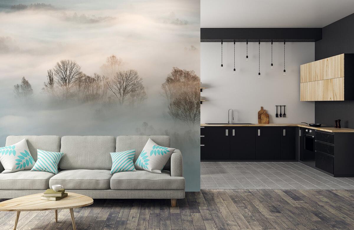Landschap Winter fog 9