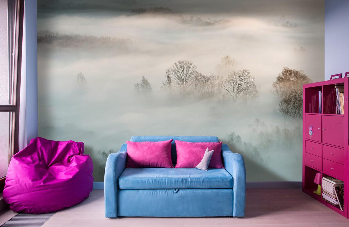 Landschap Winter fog 4