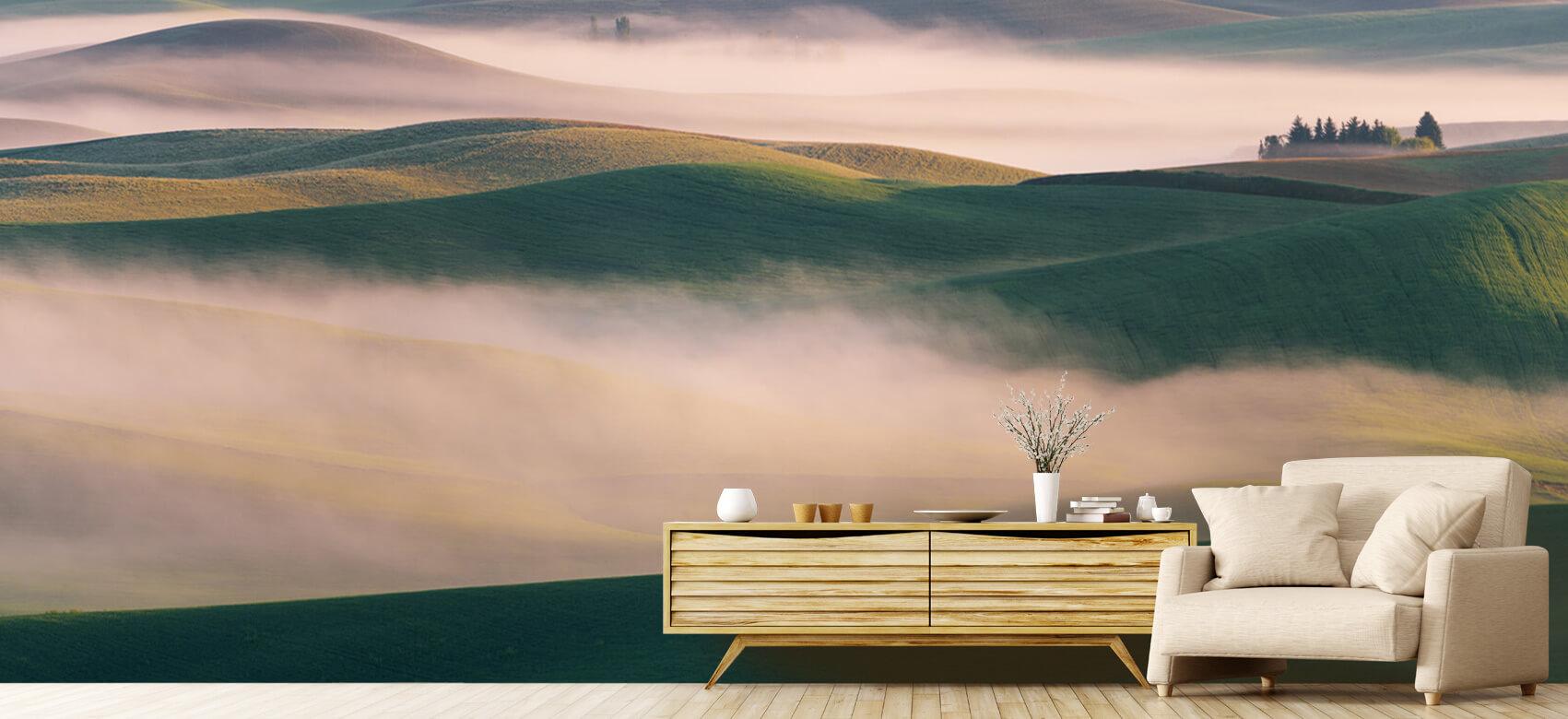 Landschap Dream Land in Morning Mist 6