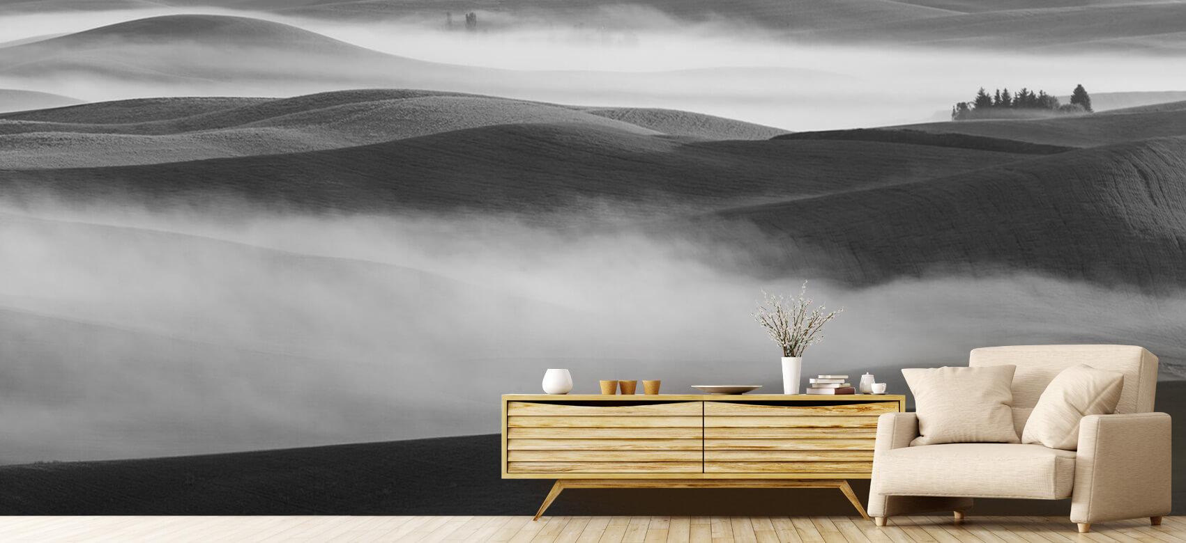 Landschap Dream Land in Morning Mist 7