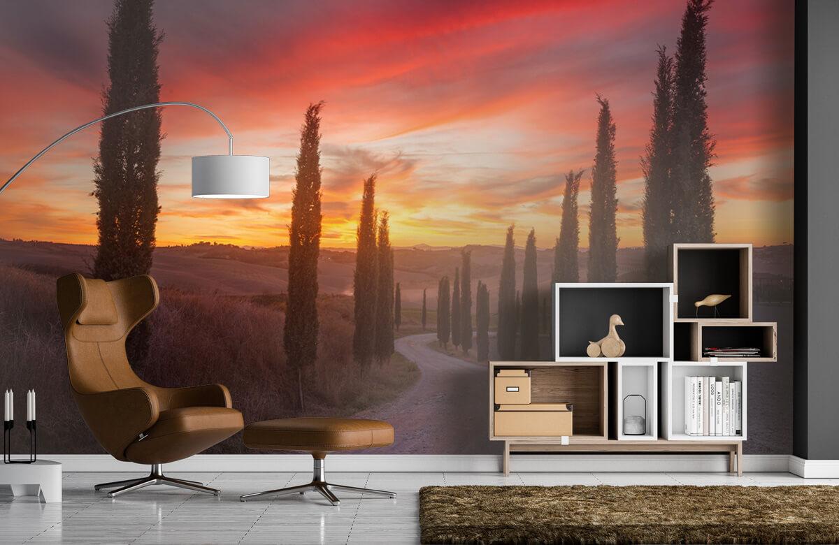 Tuscany sunset 1