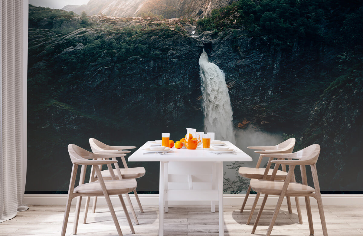 Wallpaper Impressive waterfall 4