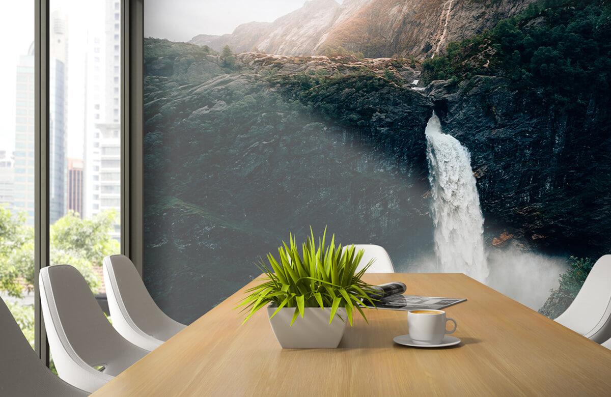 Wallpaper Impressive waterfall 6