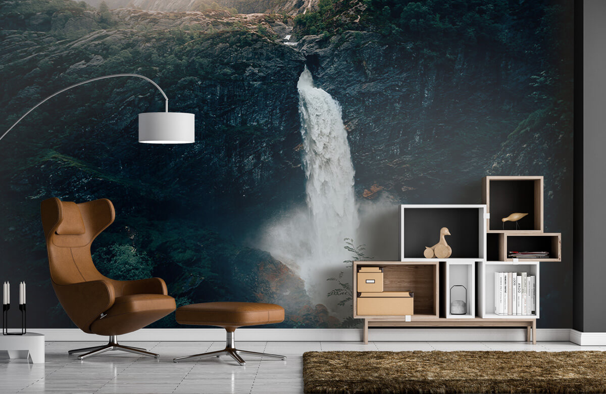 Wallpaper Impressive waterfall 7