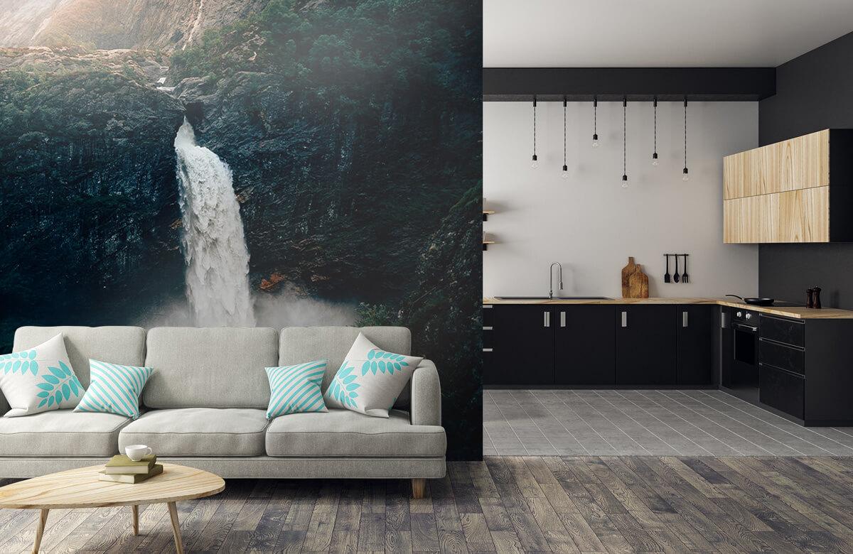 Wallpaper Impressive waterfall 9