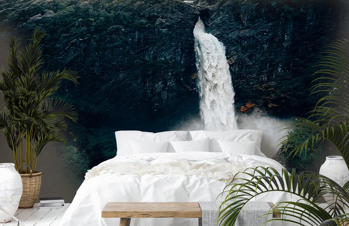 Wallpaper Impressive waterfall 8