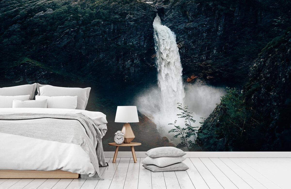 Wallpaper Impressive waterfall 2