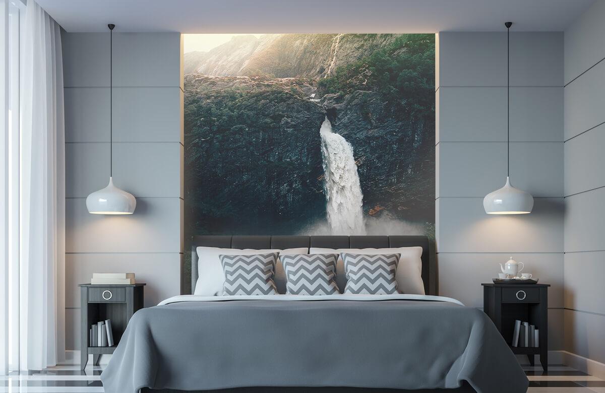 Wallpaper Impressive waterfall 11