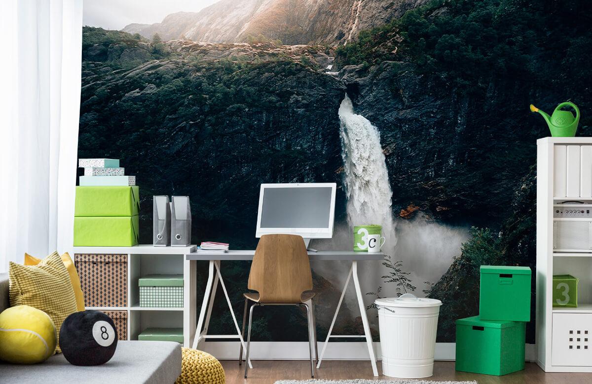 Wallpaper Impressive waterfall 10