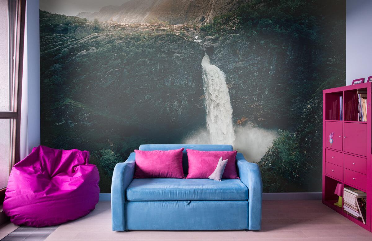 Wallpaper Impressive waterfall 3