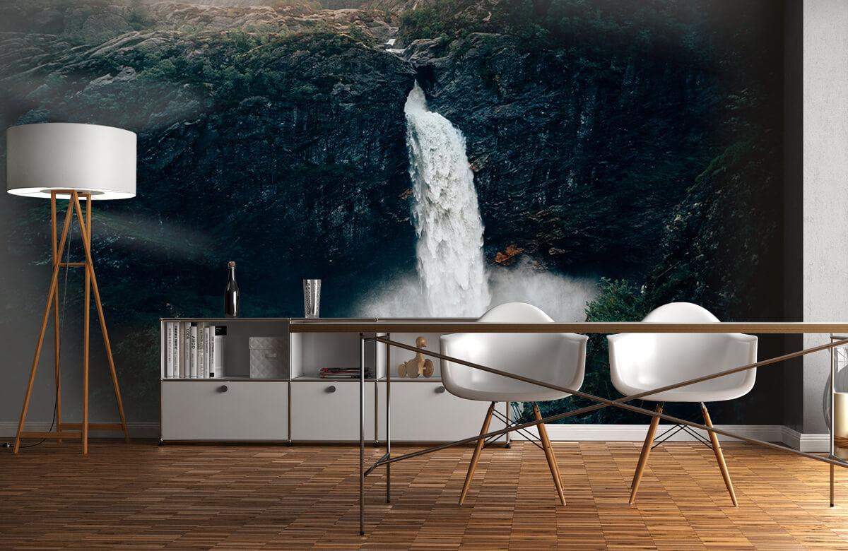 Wallpaper Impressive waterfall 1