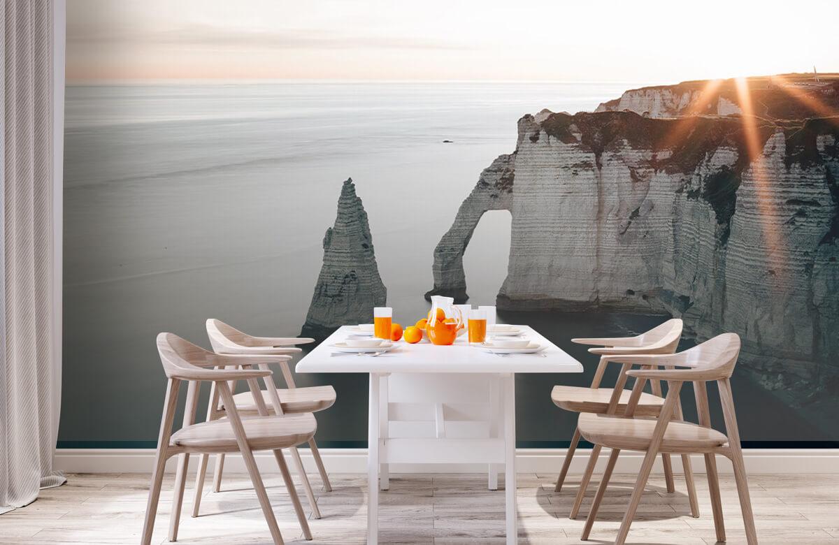 Wallpaper Morning sun at the coast 5