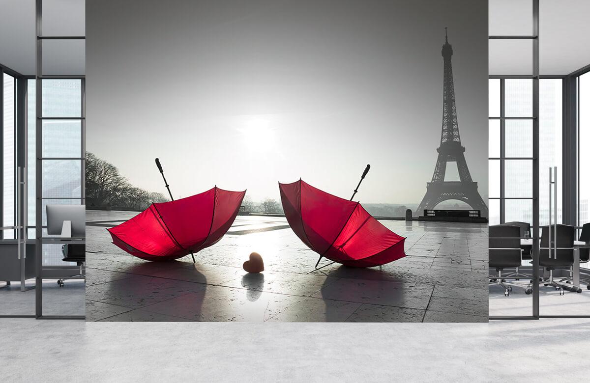 Red umbrellas 7