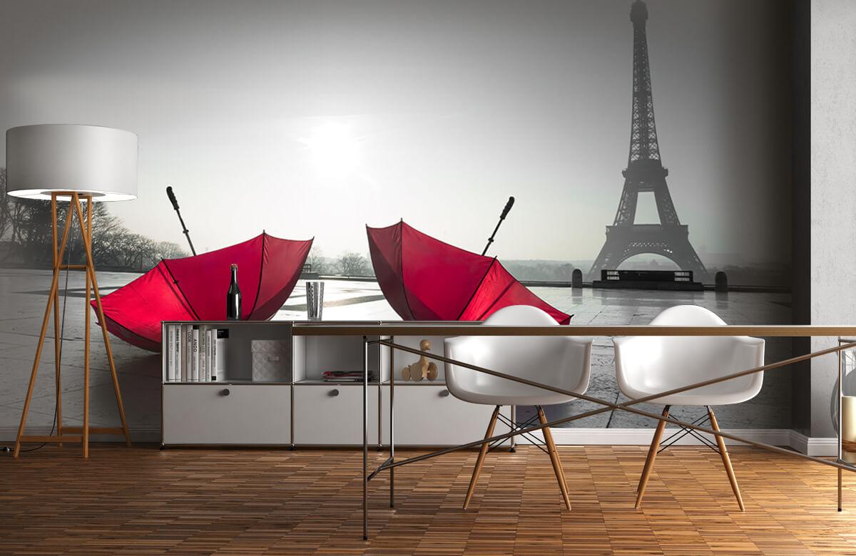 Red umbrellas 6