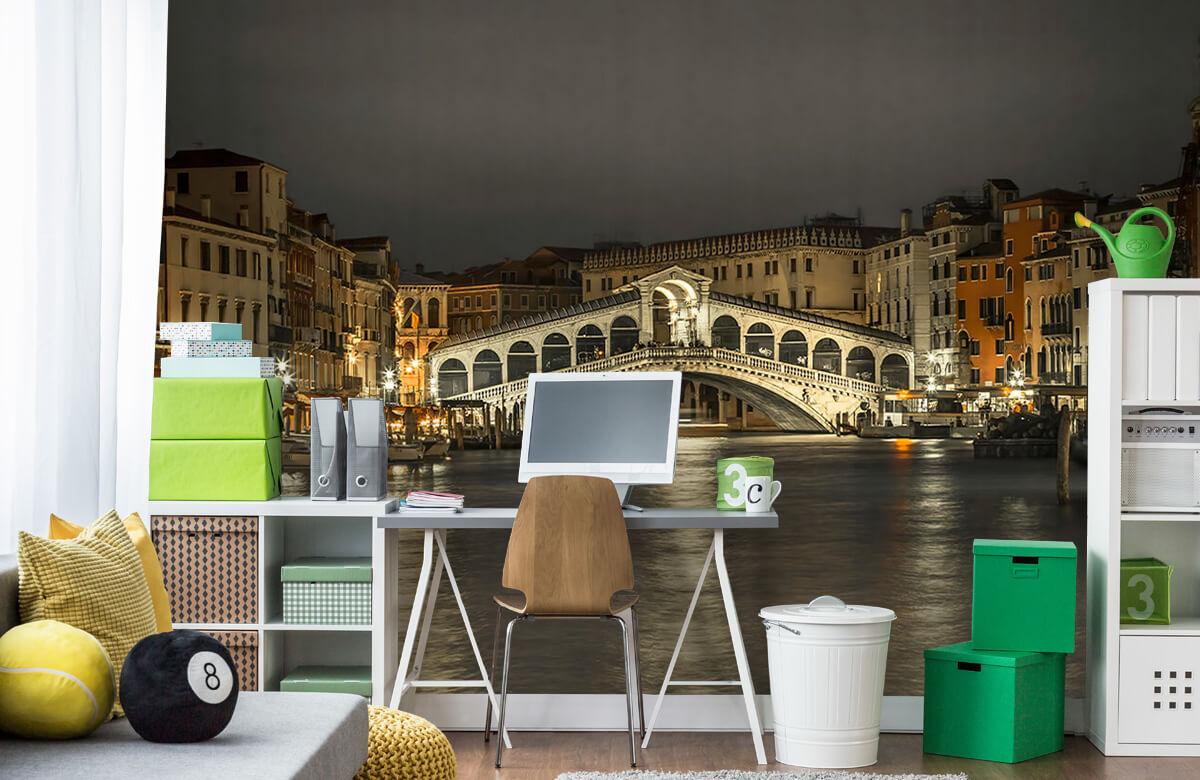 Rialto bridge in the evening 8