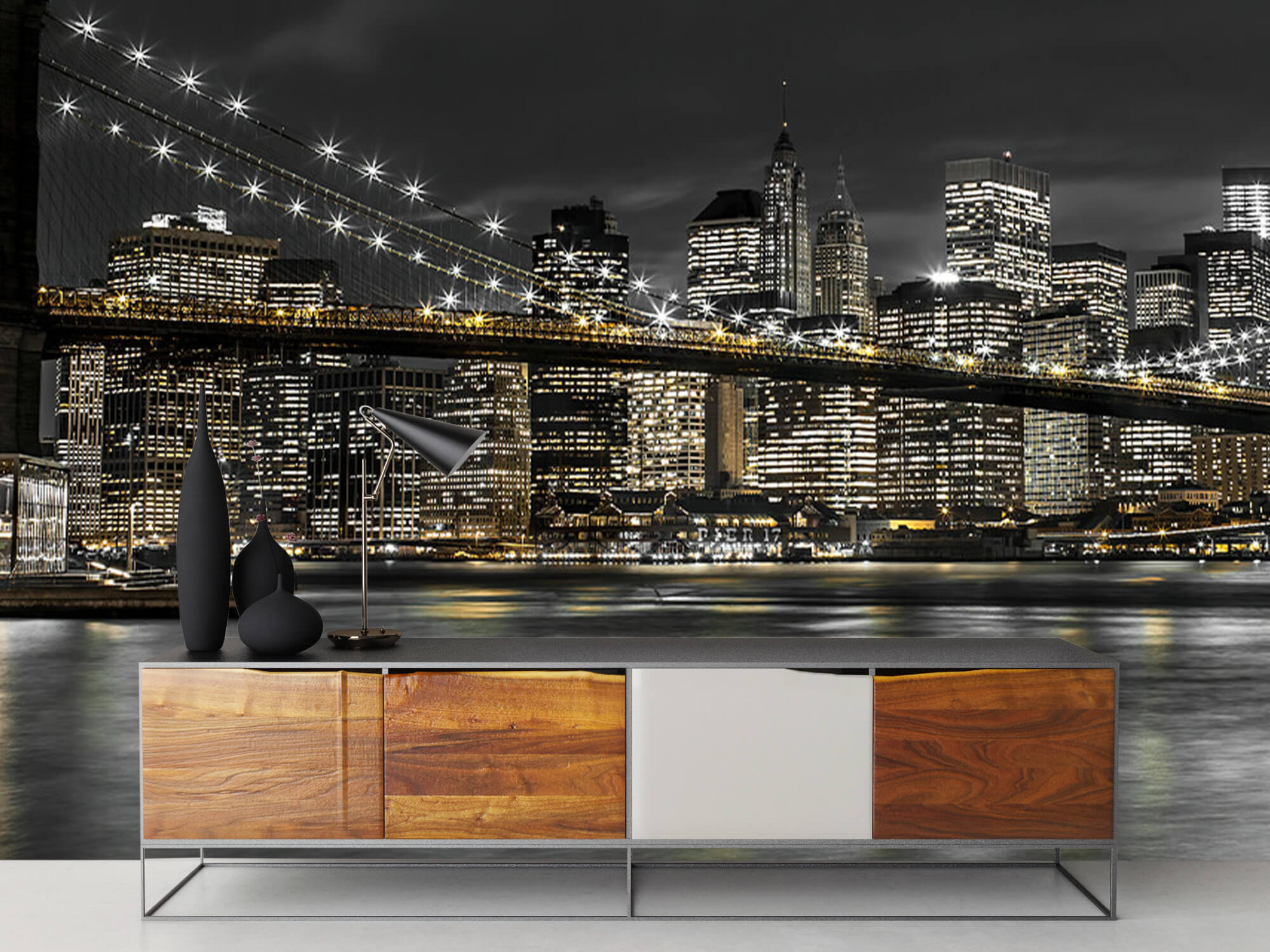 Brooklyn Bridge at Night 17