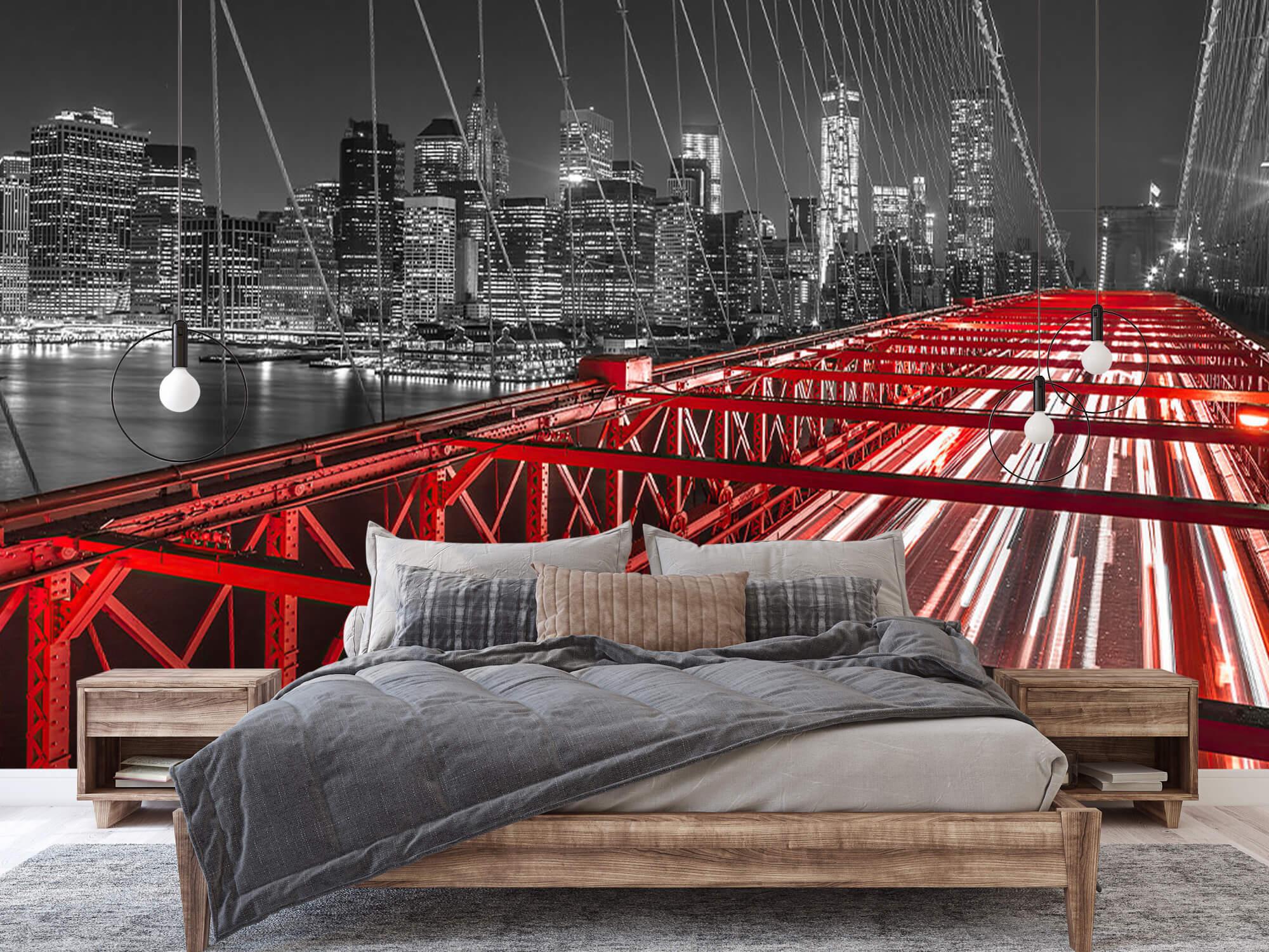 Red Brooklyn Bridge 3