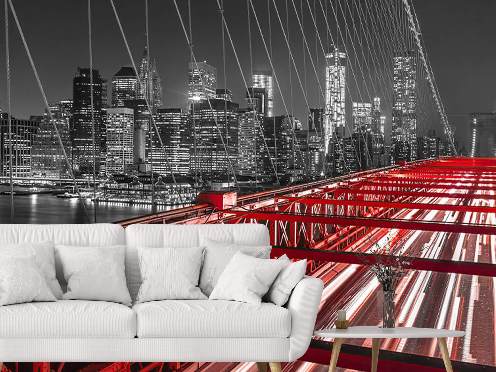 Red Brooklyn Bridge 5