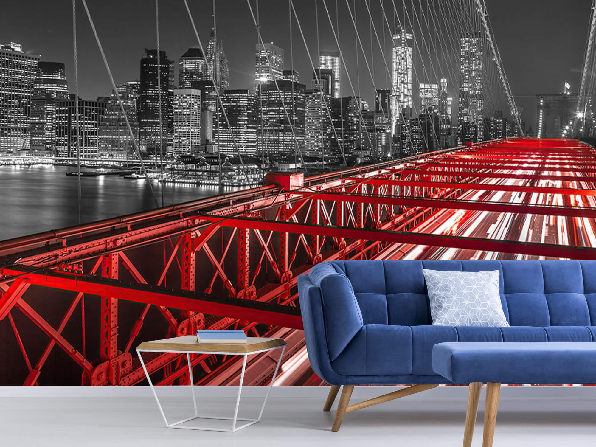 Red Brooklyn Bridge 7
