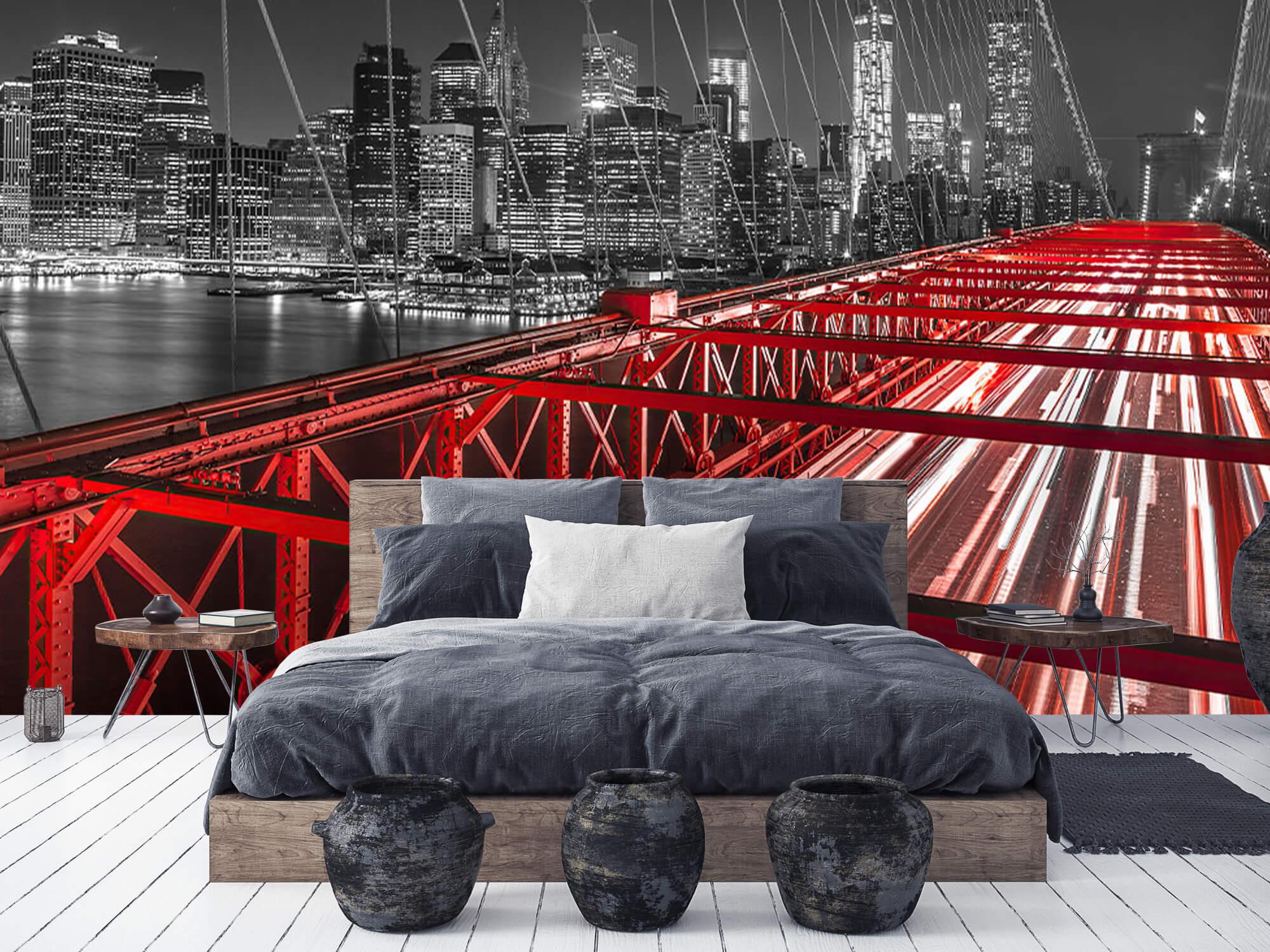 Red Brooklyn Bridge 10