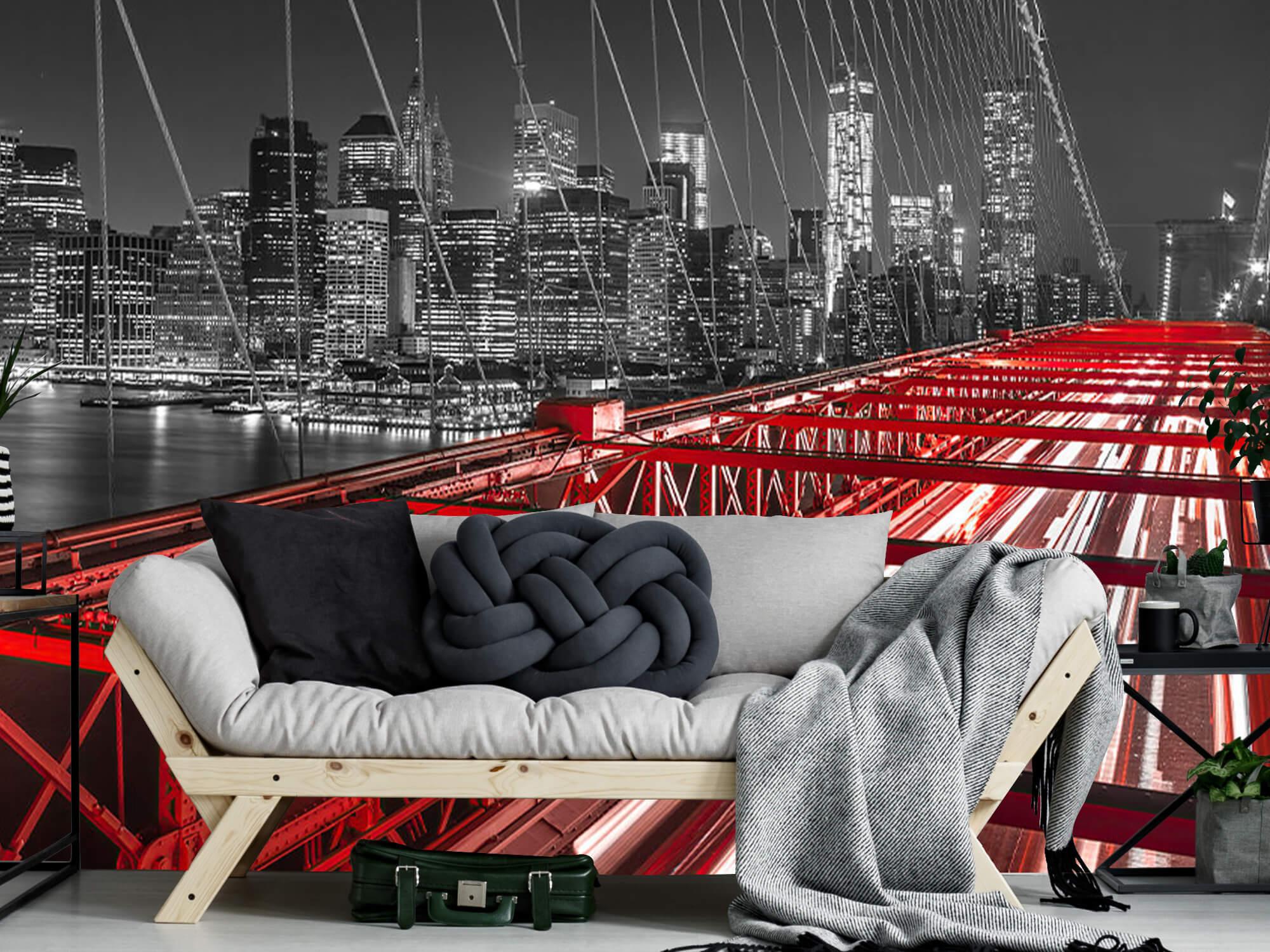 Red Brooklyn Bridge 12