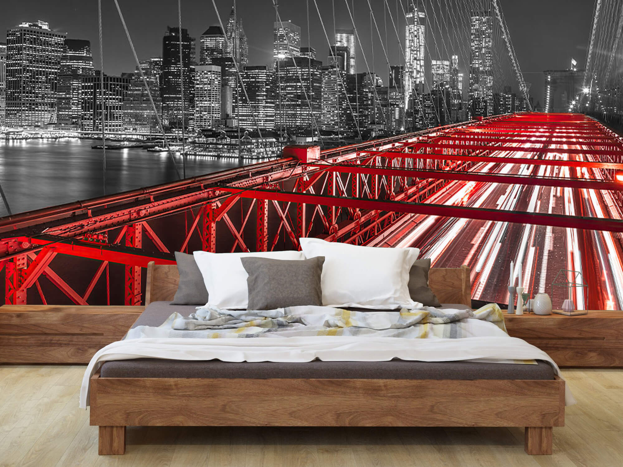 Red Brooklyn Bridge 8