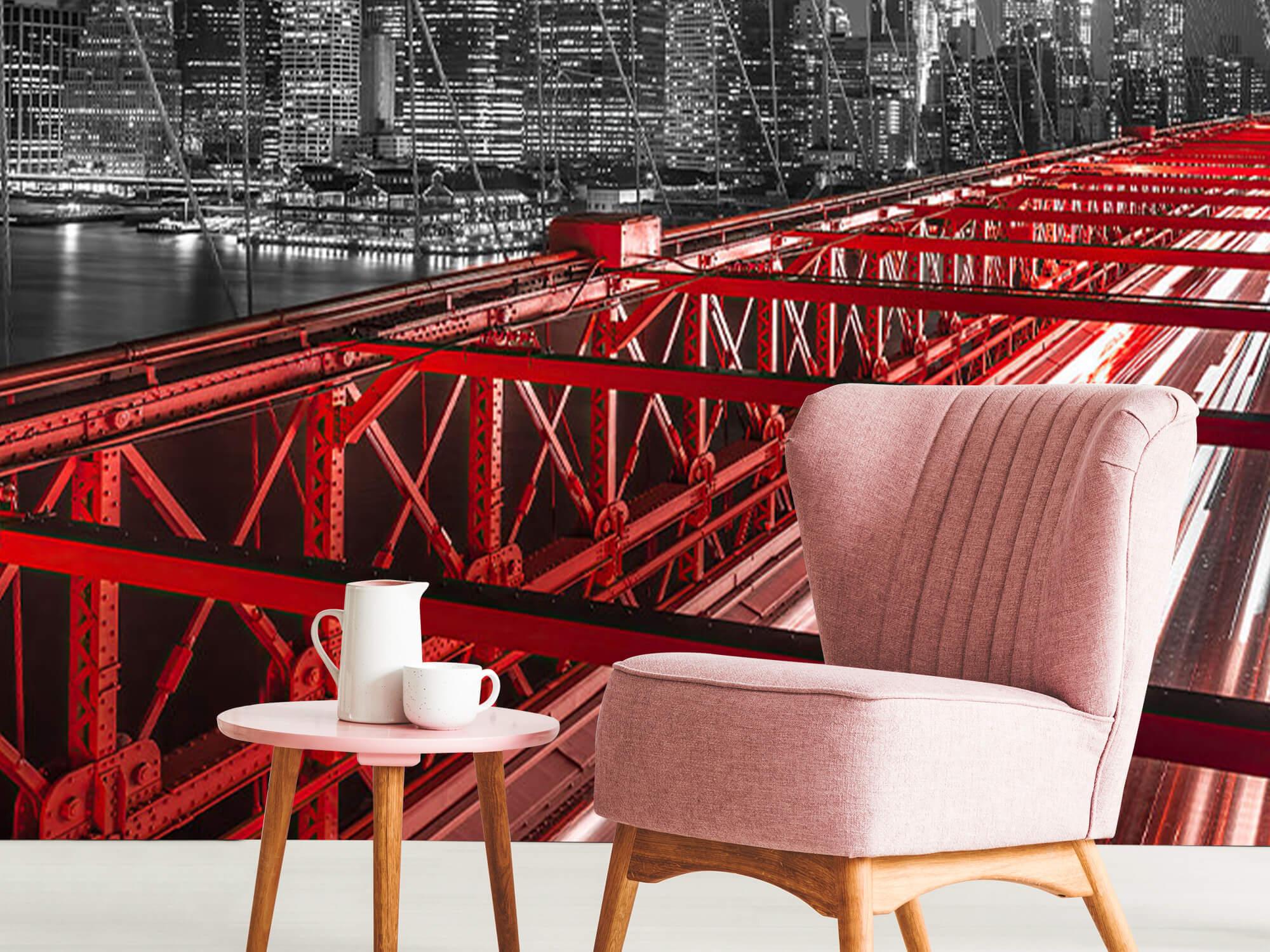 Red Brooklyn Bridge 11