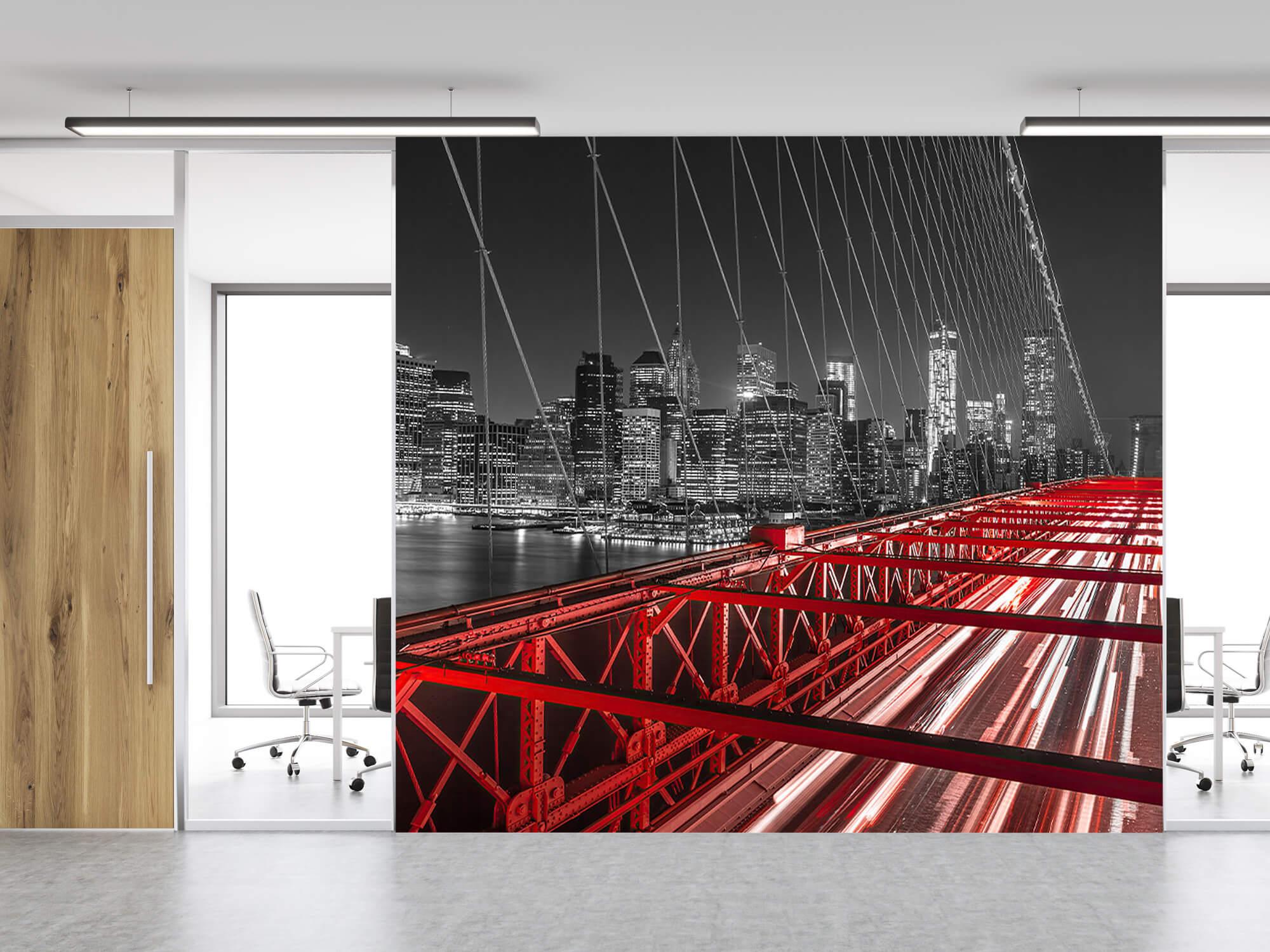 Red Brooklyn Bridge 4