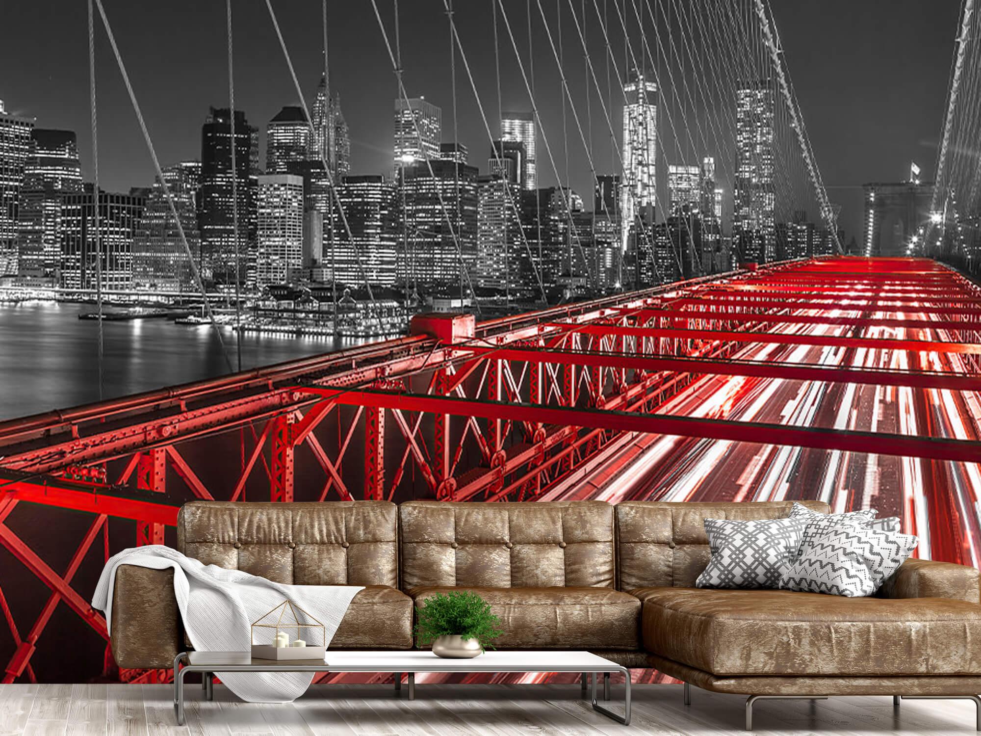 Red Brooklyn Bridge 6