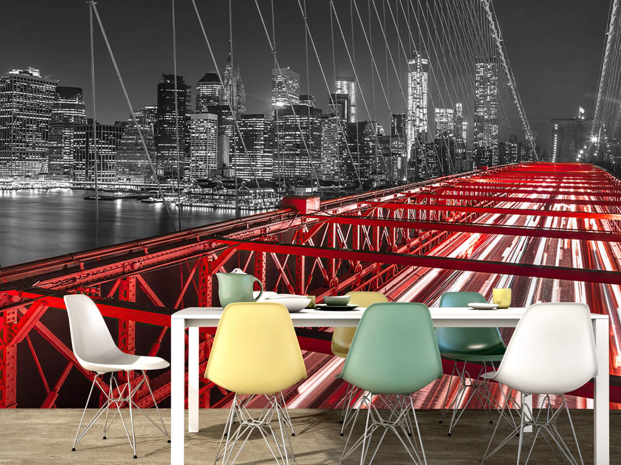 Red Brooklyn Bridge 9