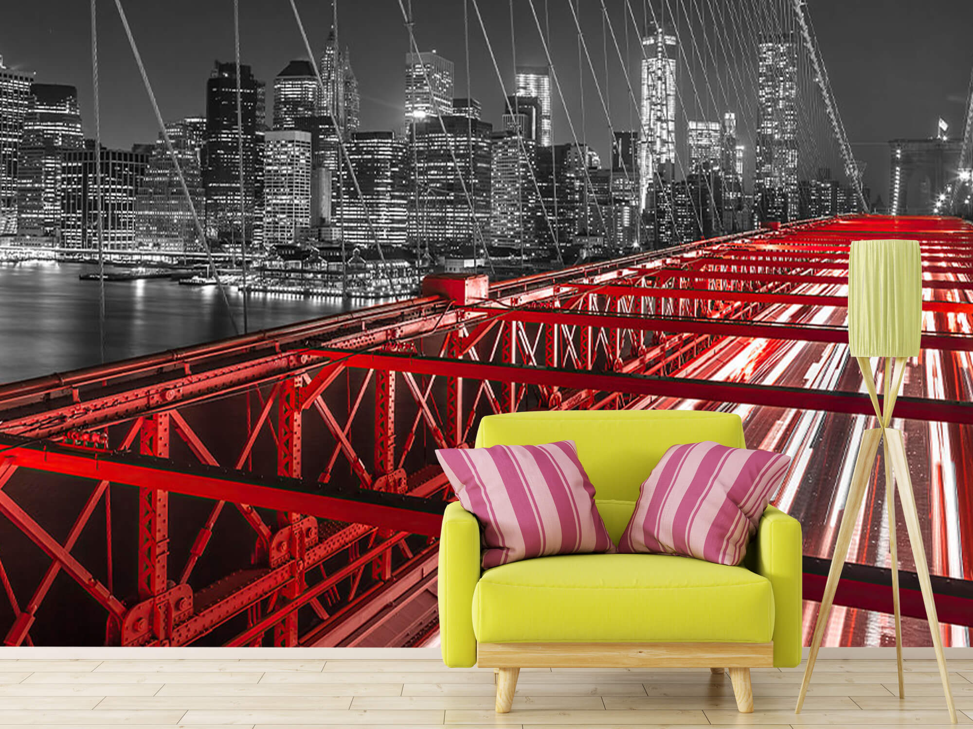 Red Brooklyn Bridge 13