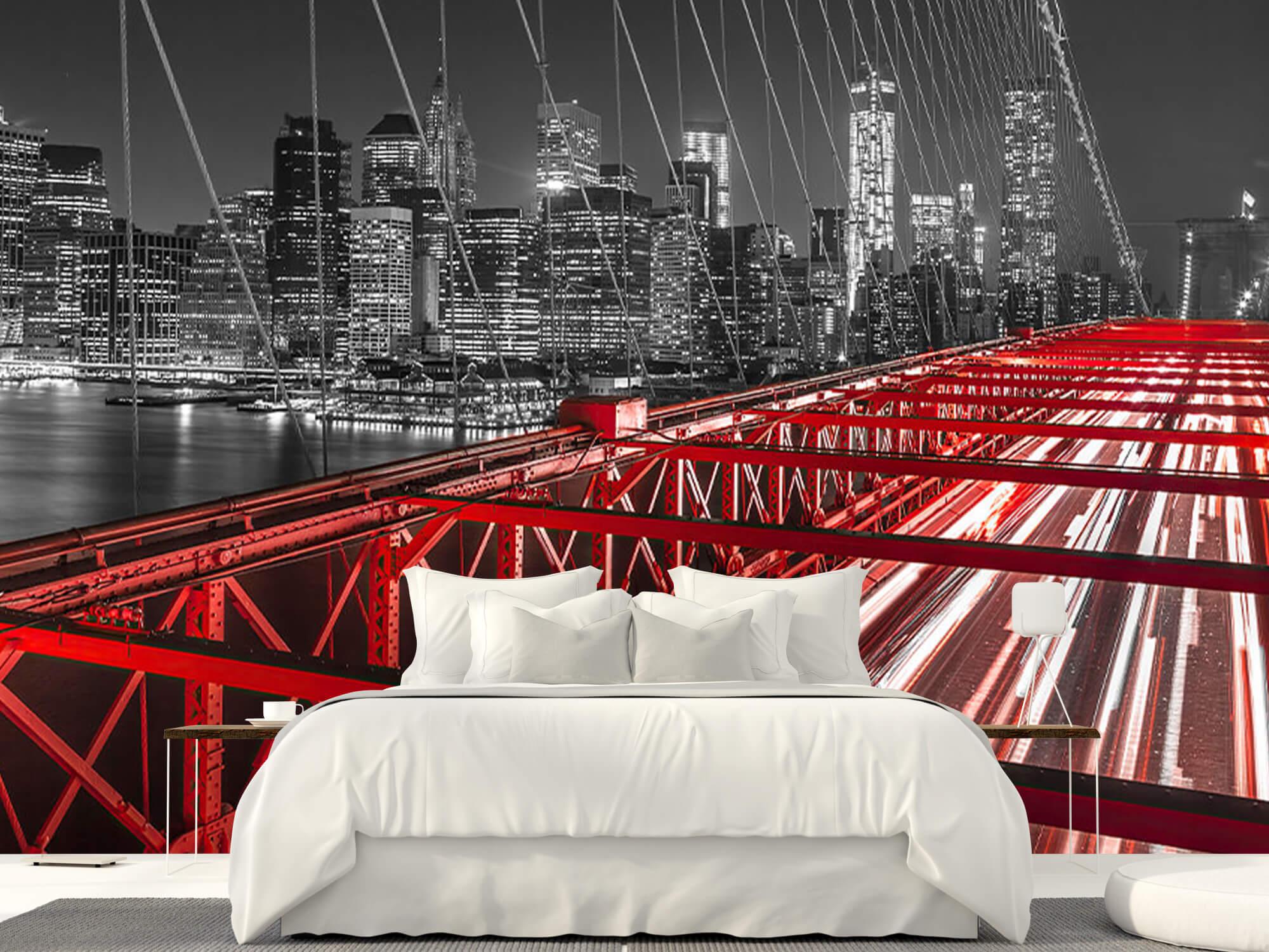 Red Brooklyn Bridge 15
