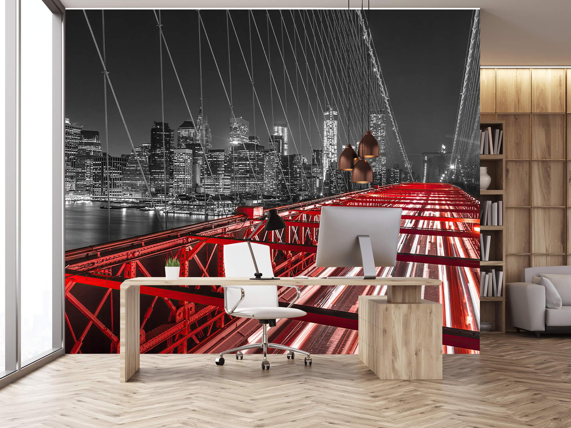 Red Brooklyn Bridge 16