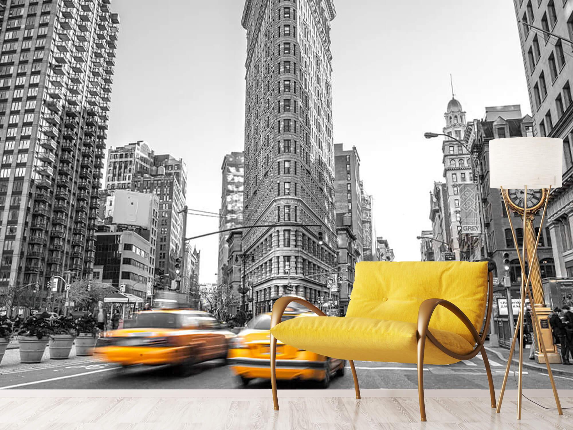 Busy street in New York 13