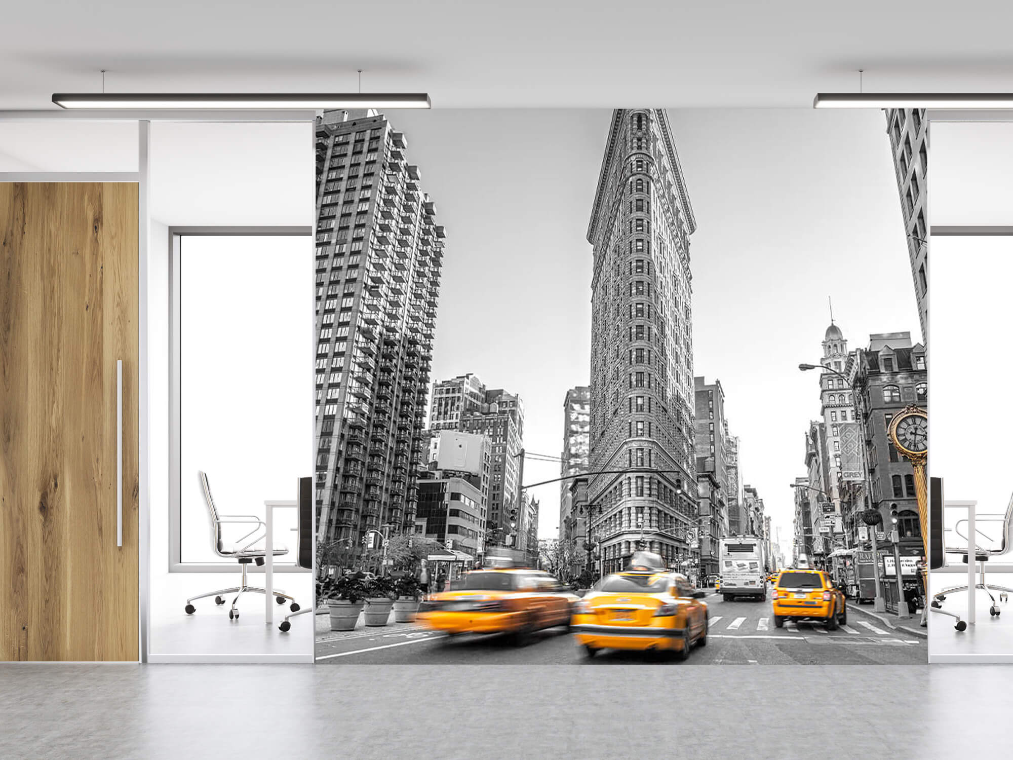 Busy street in New York 5