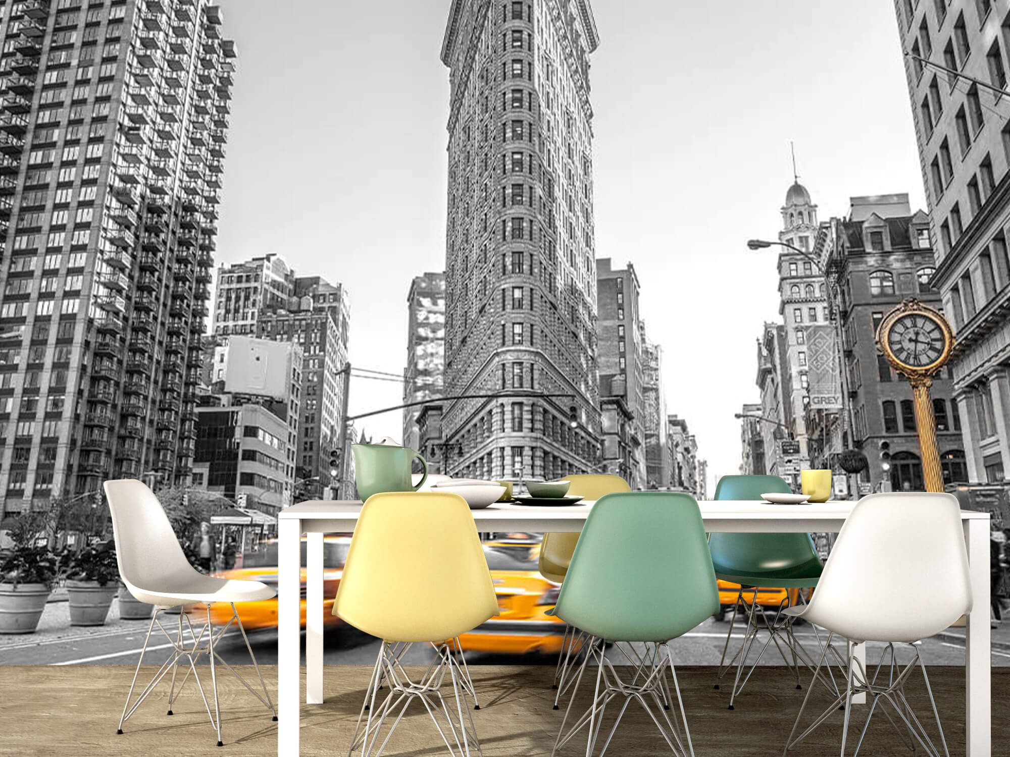 Busy street in New York 8
