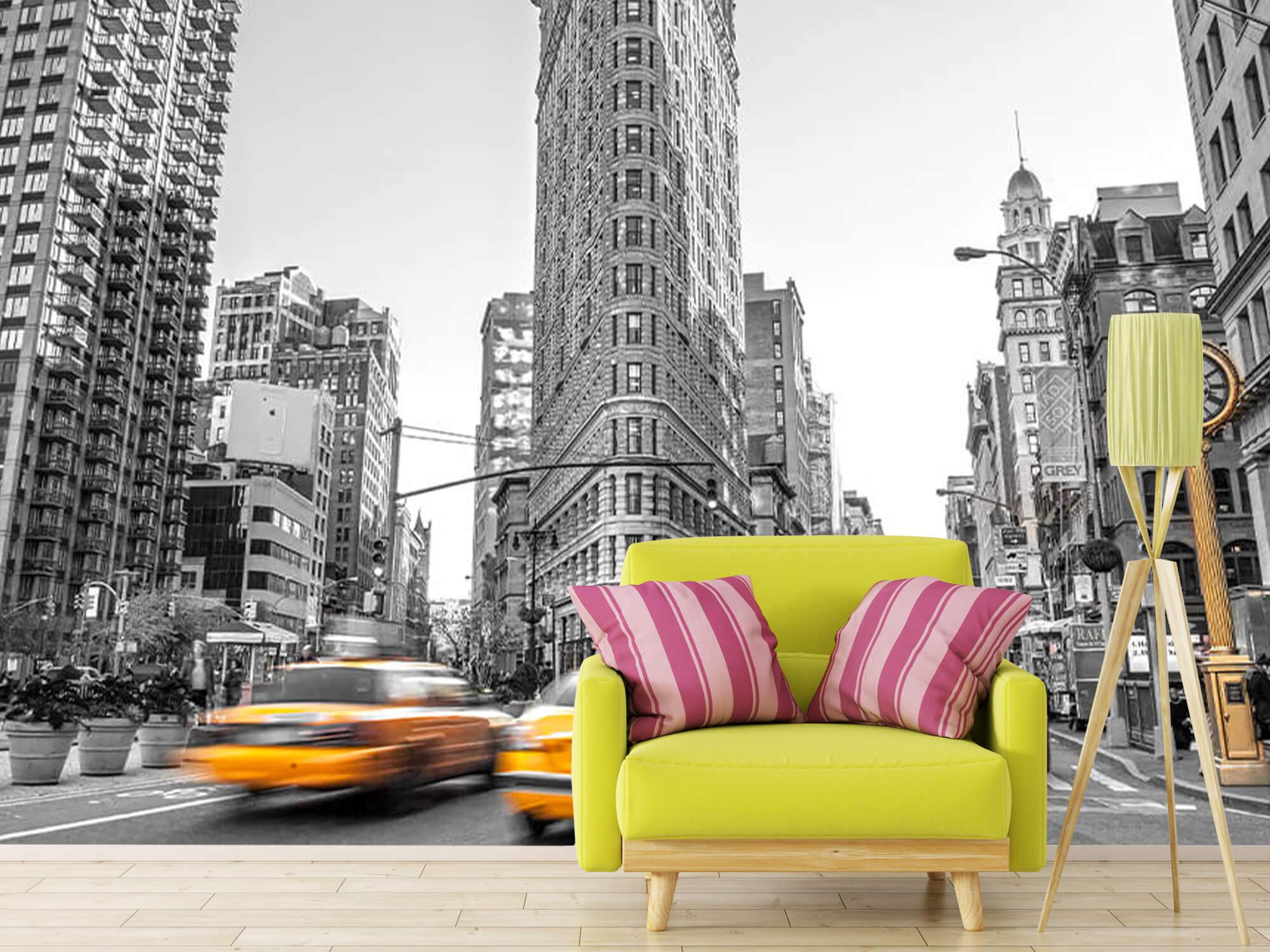 Busy street in New York 11