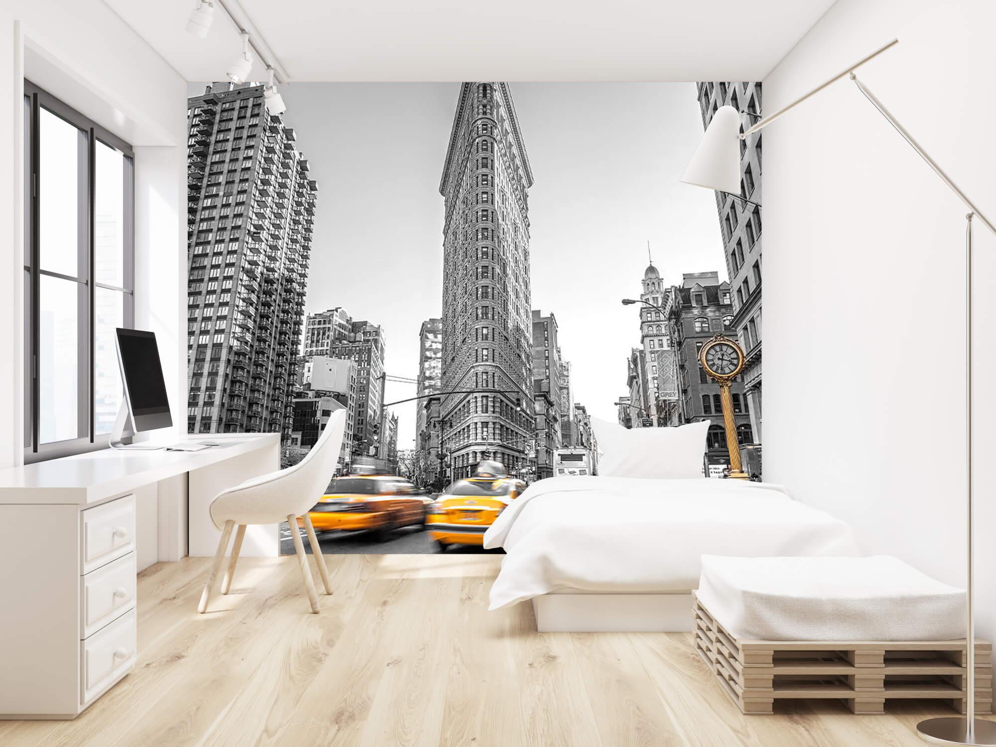 Busy street in New York 1