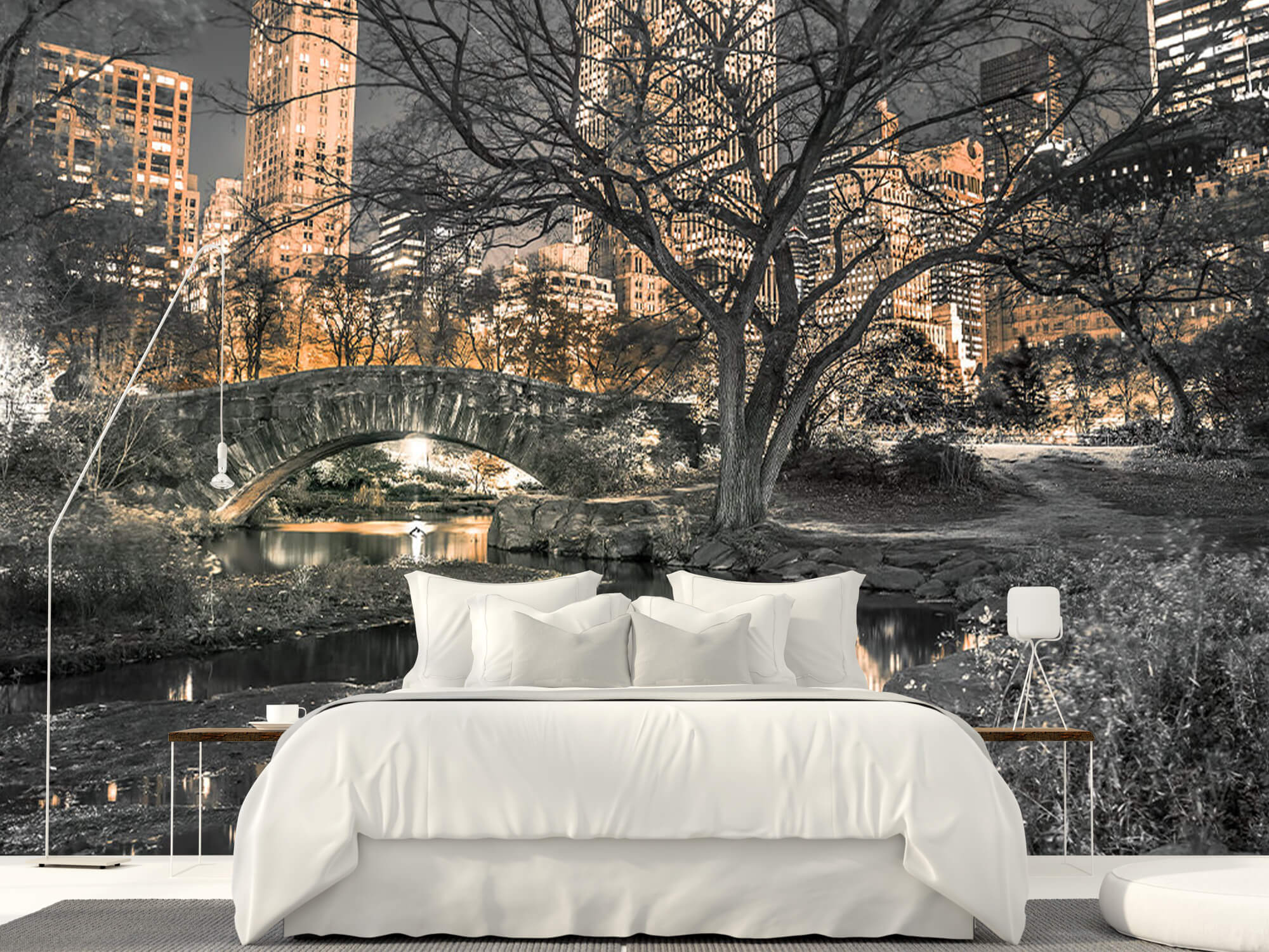 Central park in the evening 15