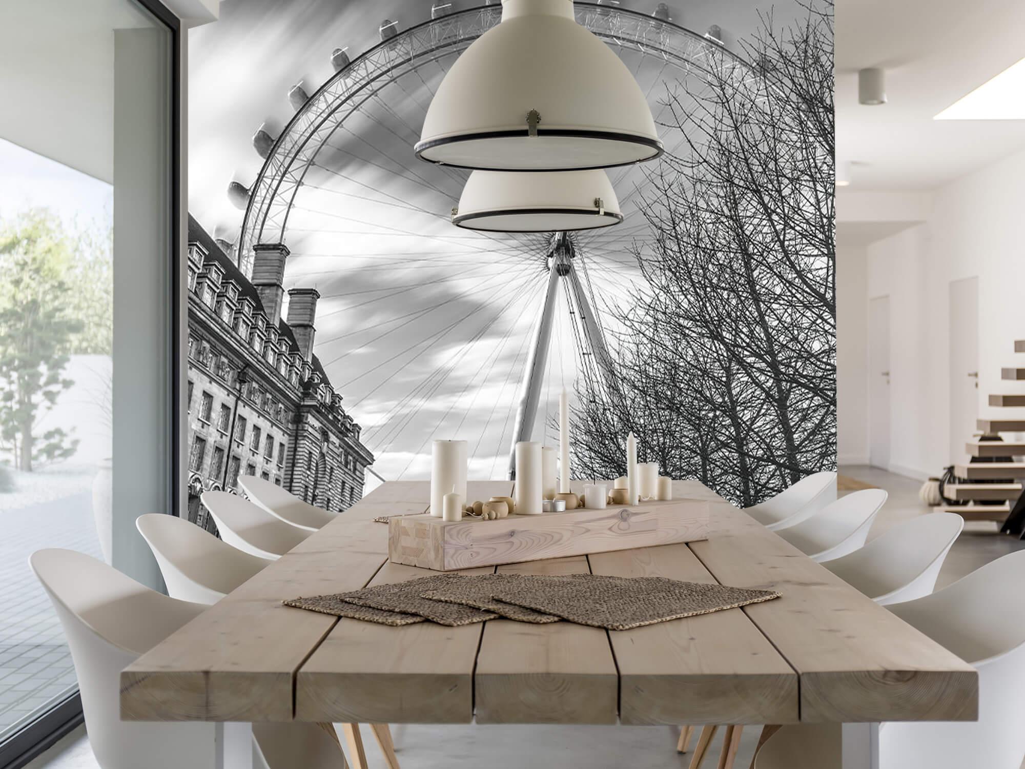 Ferris wheel in London 1