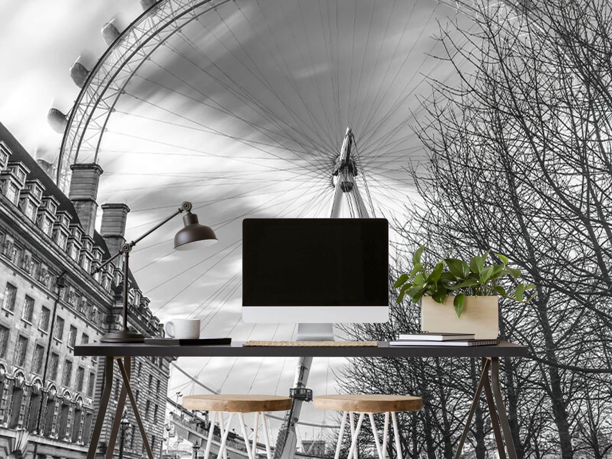 Ferris wheel in London 3