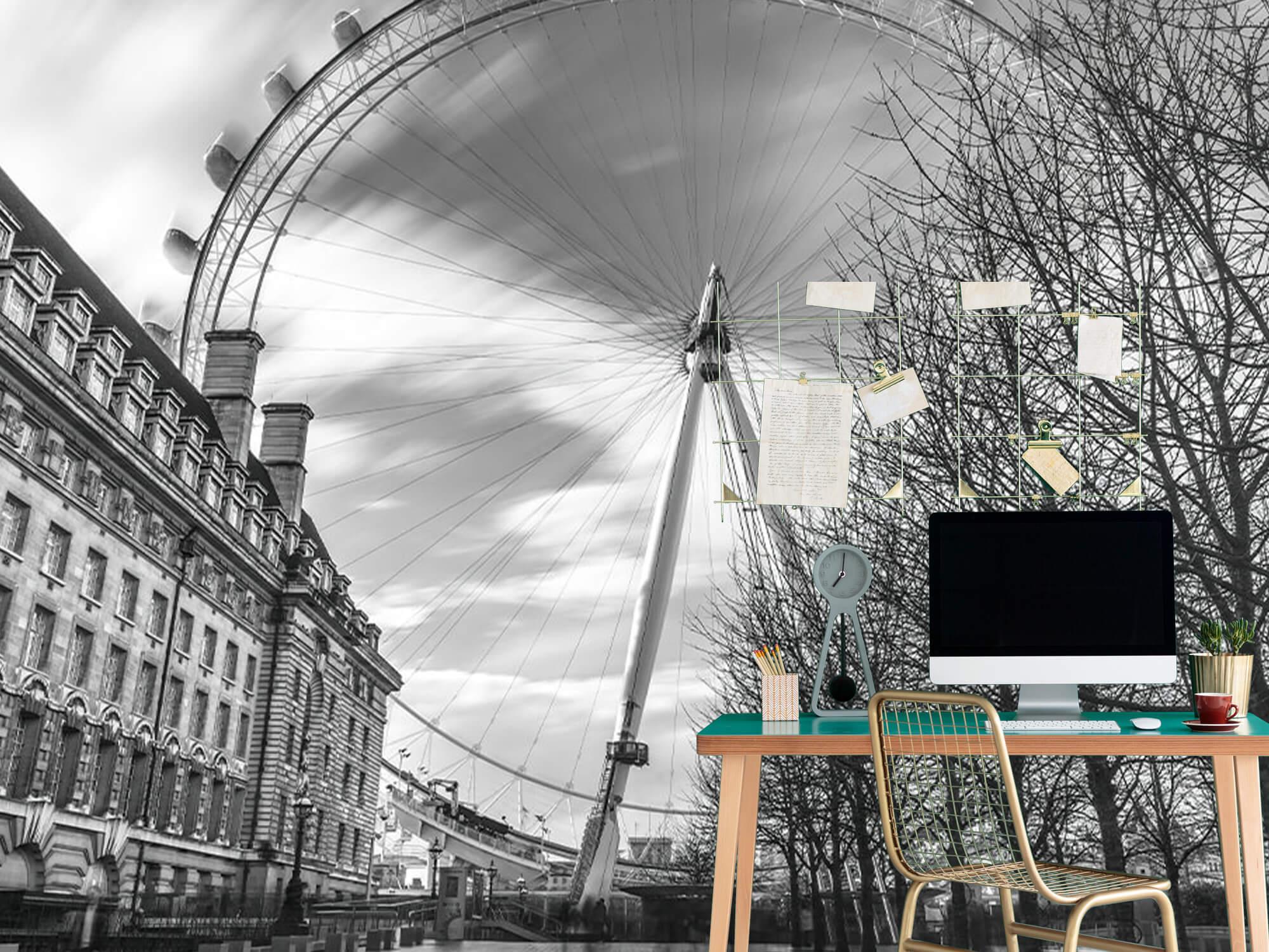 Ferris wheel in London 8