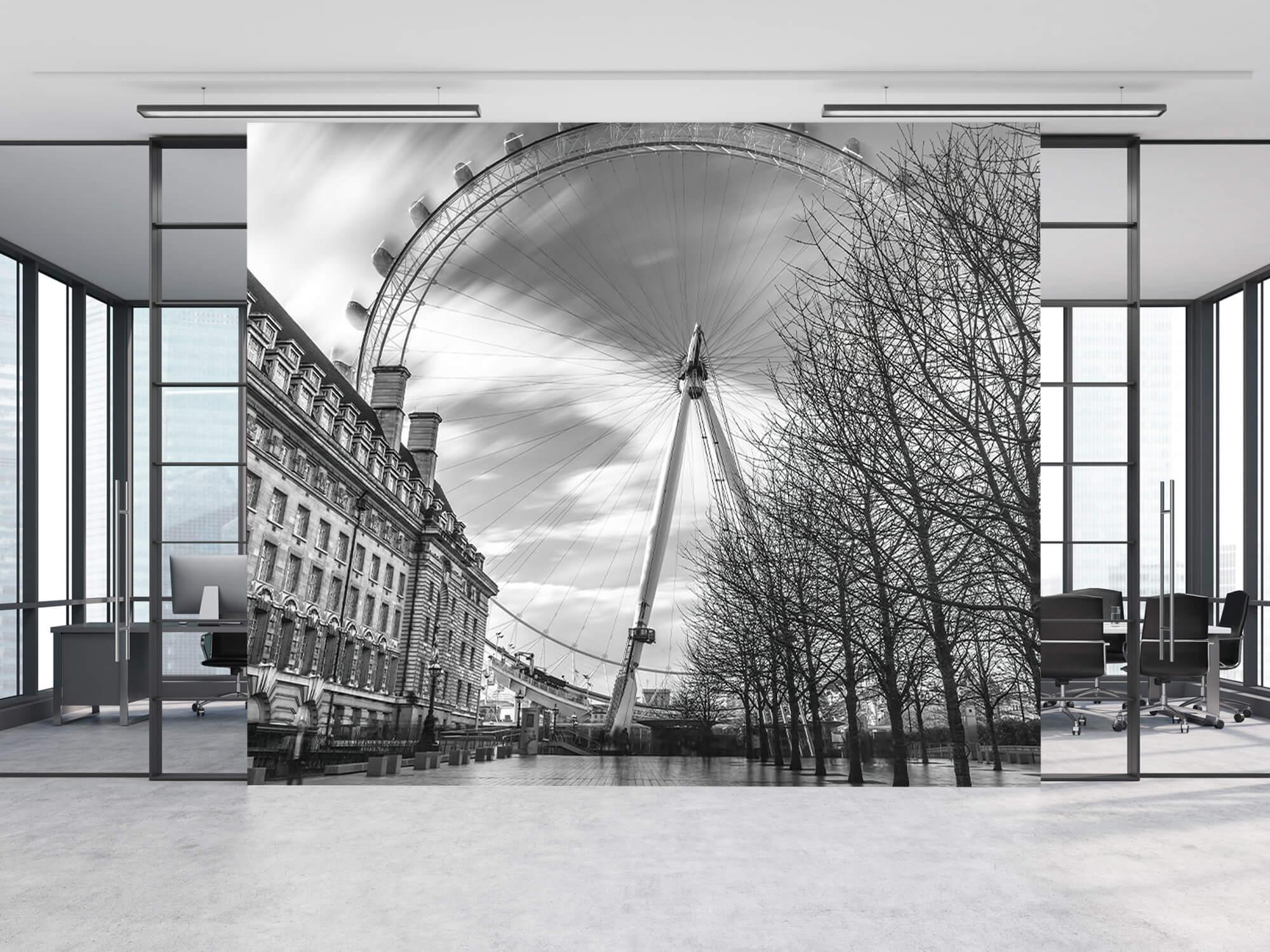 Ferris wheel in London 2