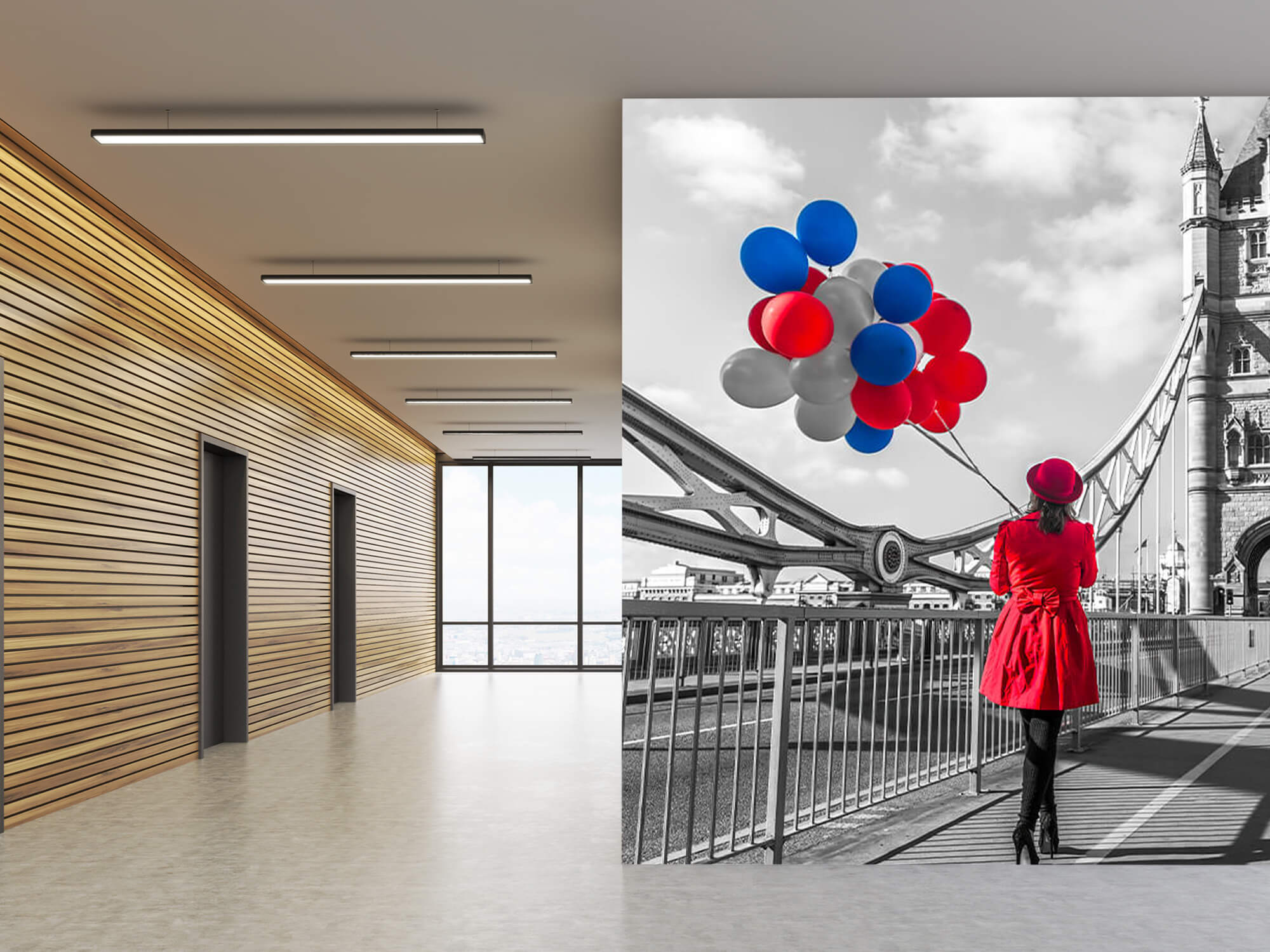 Colourful balloons 7