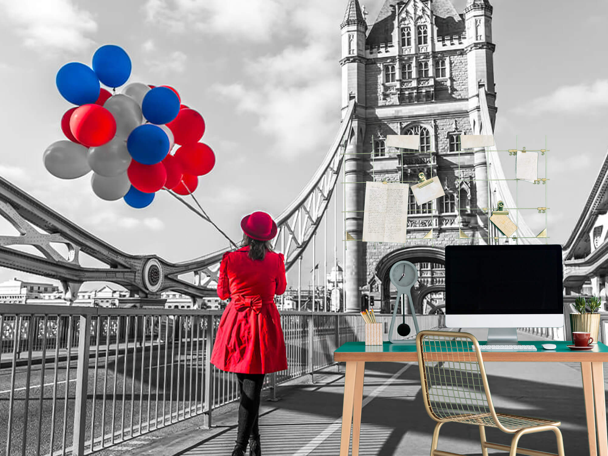 Colourful balloons 11